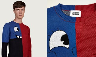 A Cheerful Christopher Shannon Smiley Knit For Fall Winter 2013