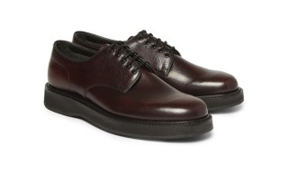 A Fine Pair of Pebble Grain Derby Shoes from Church's – Two Colours