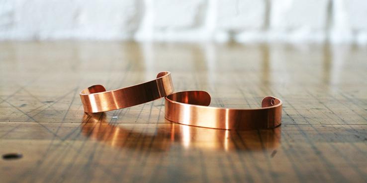 Corter Handmade Copper Bracelets
