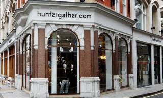 Inside The Huntergather Store – Wigmore Street London