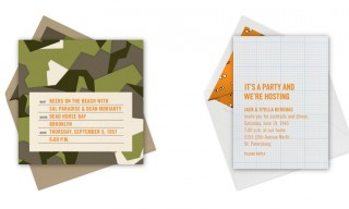 Paperless Post Custom Stationery by Jack Spade