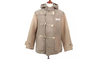 Kapital Kountry Two-Tone Melton Wool Duffle Coat