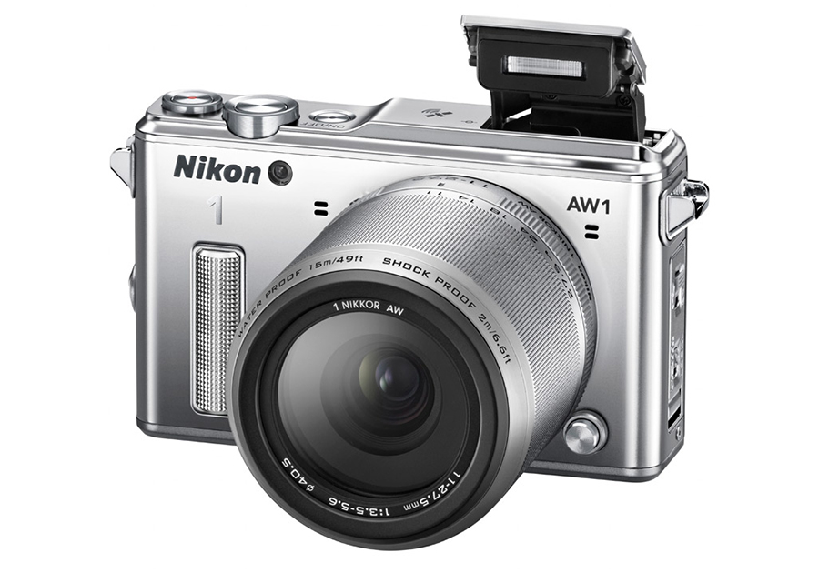 Nikon Present The Worlds First Waterproof Interchangeable Lens Camera   Nikon 1 AW1