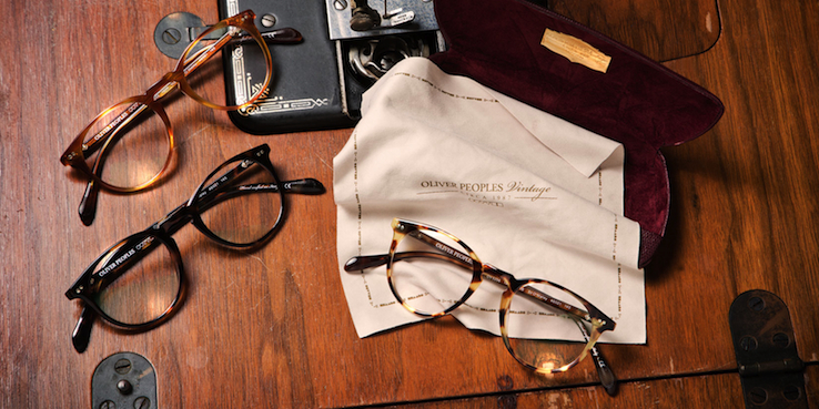 Oliver Peoples Look to The Past For The Sir Series