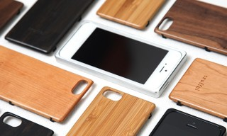 Woodgrain and Aluminum Truffol iPhone 5 Cases