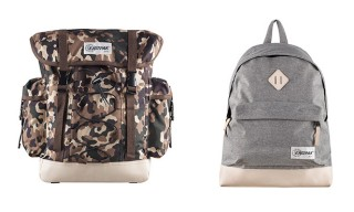 Eastpak for A.P.C. Backpacks and Golf Bag for Fall 2013