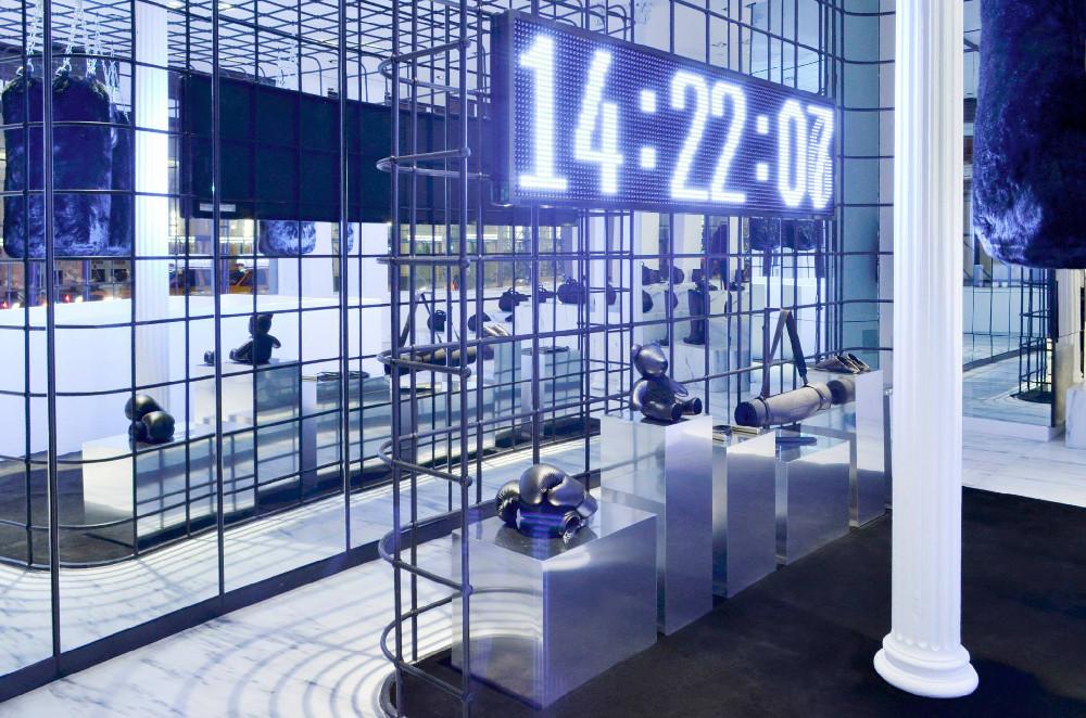 Alexander Wang Boxing Cage Installation 2013 03