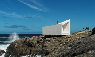 See these All-White Interior Beach-Front Studios in Fogo Island, Canada