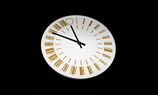 The Thing Quarterly 24-Hour Clock Issue by Tauba Auerbach