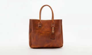 A Simple Cow Hide Tote Bag from Billykirk