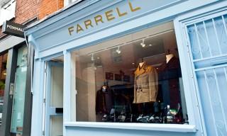 Inside The New Farrell Store – Covent Garden – London