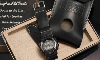 G-Shock & Photographer Nick Clements Create The Premium Cordovan Gulfman Watch