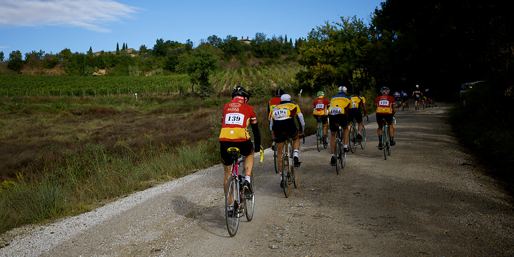 Photos from 2013 L'Eroica Vintage Bicycle Race in Tuscany