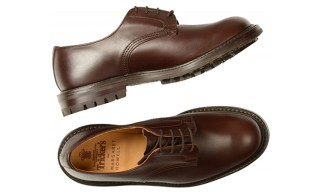 Tricker's Military Derby For Margaret Howell Fall Winter 2013
