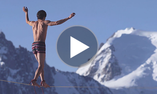 Tightrope Walkers Vs The French Alps In This Incredible Paul Smith Underwear Film