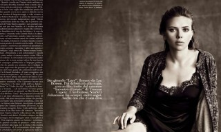 Scarlett Johansson for Vogue Italia October 2013