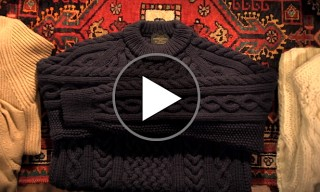 "United Arrows Present ""How My Sweater Came To Be"" – Making Knitwear in Reverse"