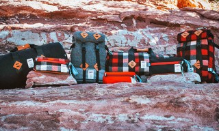 Topo Designs Meet Woolrich For Accessory Collection