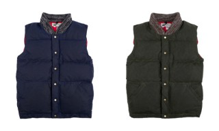 Crescent Down Works for Archival Clothing Limited Edition Waxed Vests