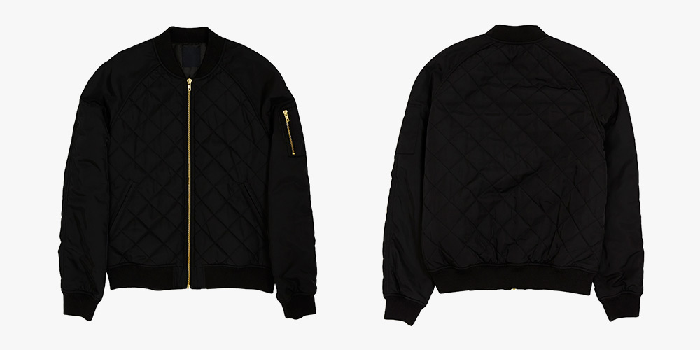 ASOS Quilted Bomber Jacket