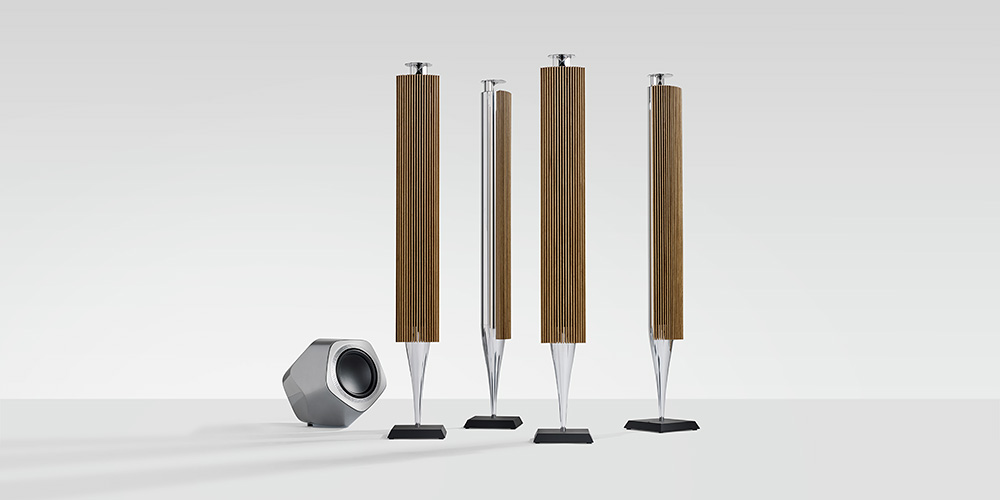bang olufsen new beolab 17 18 19 loudspeakers a selectism. Black Bedroom Furniture Sets. Home Design Ideas