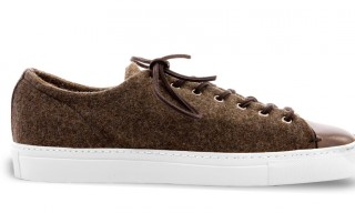 Buttero for Double Select Tanino Military Blanket Sneaker