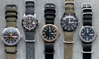 Worn&Wound NYC NATO Horween Leather Watch Straps
