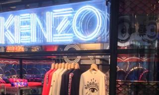 KENZO Opens Boxshop Pop-Up in Omotesando, Tokyo