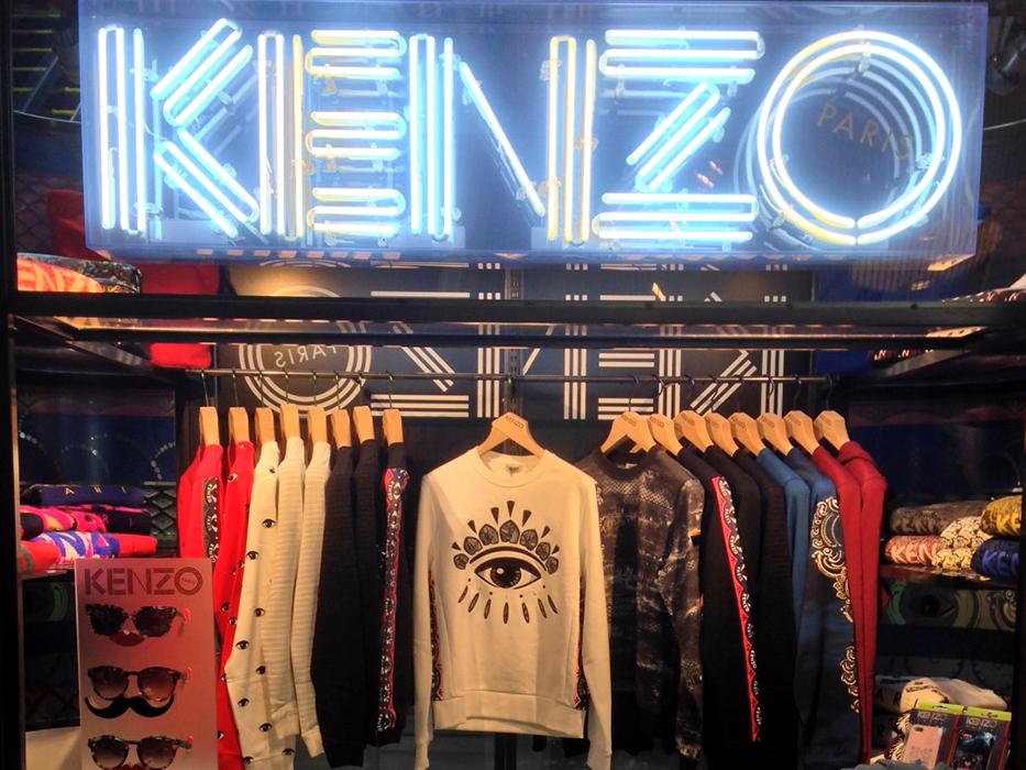 KENZO boxshop tokyo 2013 01