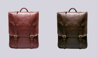 Watch the Handmade Lotuff Leather Backpack in Production