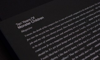 "A Look Inside ""Ten Years of Monster Children"" Book"