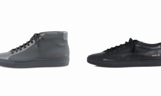 Common Projects for Odin New York Rubberized Leather Shoes