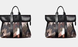 3.1 Phillip Lim 31 Hour Painted Dark Camo Bag