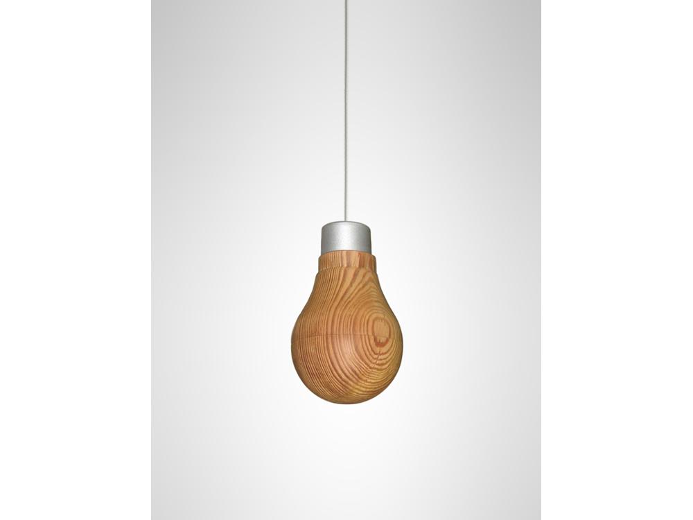 Wooden Lightbulb 01