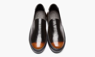 Alexander McQueen Perforated Slip-On Loafers For Fall 2013