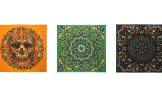 Damien Hirst and Alexander McQueen Exclusive Scarf Collection