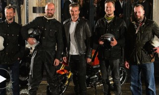 "From Goodwood to Bond Street – Belstaff Present ""For the Open Road"" Featuring David Beckham"