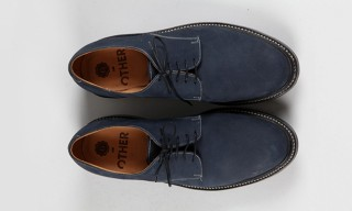 Grenson Create Blue Suede Derby Shoe For OTHER Shop