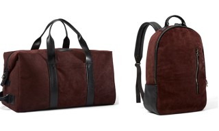 Killspencer Introduce Burgundy Italian Oil Suede Bag Collection