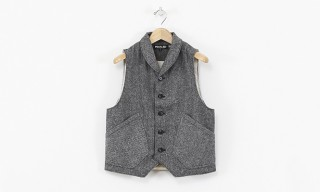 PEdALED Kabuto Cycling Vest in Herringtweed