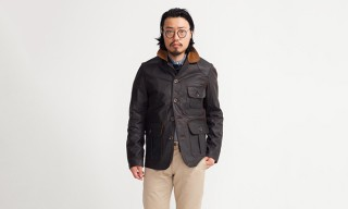The Water-Repellant Huntsman Jacket From Rising Sun