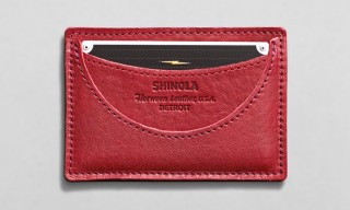 Shinola Horween Leather Card Holder For Downsizing Days