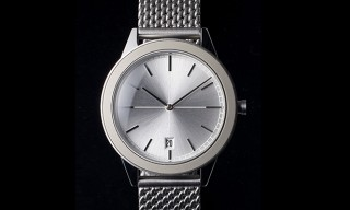 The Limited Edition Uniform Wares 351/PL-01 Mesh Strap Watch