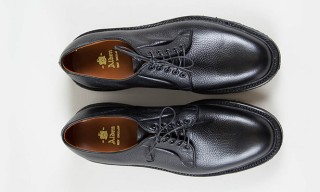 Alden For The Bureau Belfast – Black Regina Grain Blucher