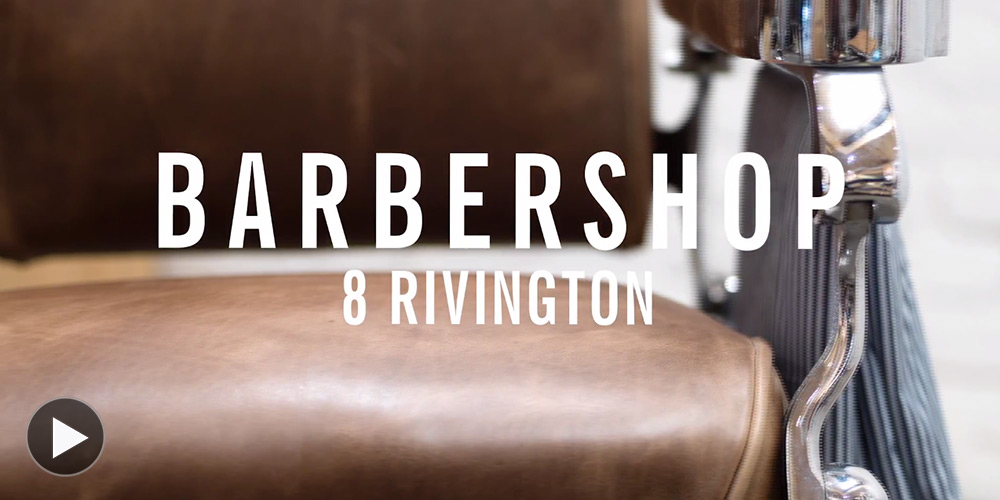 Watch Barbershop Rework Their Vintage Chairs with Horween Leather