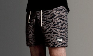 Bather Trunk Company Tiger Camo Surf Trunks