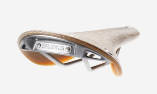 Brooks C17 Cambium Rubber and Cotton Bike Saddle
