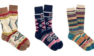Chup for J.Crew Exclusive Holiday 2013 Socks