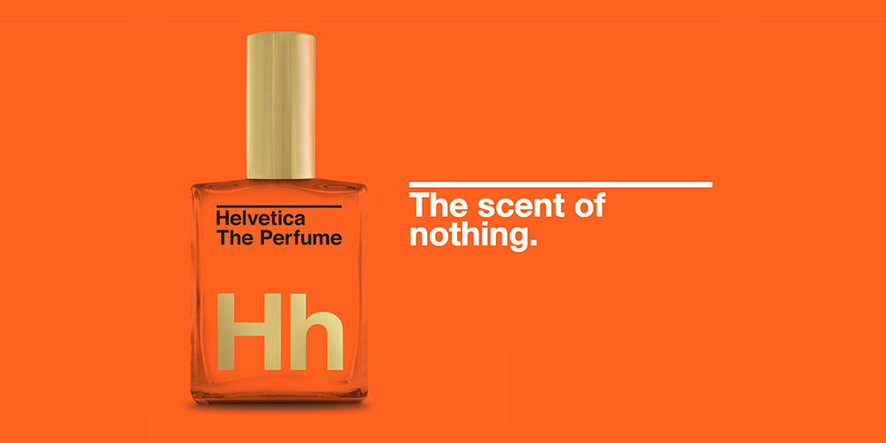 Helvetica, The Perfume: The Scent of Nothing