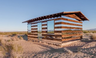 Lucid Stead: A Transparent Wood and Mirrors Cabin by Phillip K Smith III